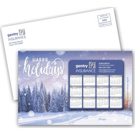 "SuperSeal Laminated Card with Calendar Magnet (0.012"" Thick, 2020)"