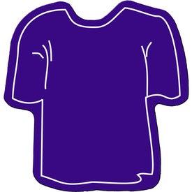 Imprinted T-Shirt Flexible Magnet