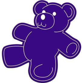 Branded Teddy Bear Flexible Magnet