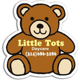 """Teddy Bear Magnet (2.75"""" x 2.875"""", .030 Thickness)"""