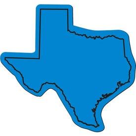 Imprinted Texas Flexible Magnet