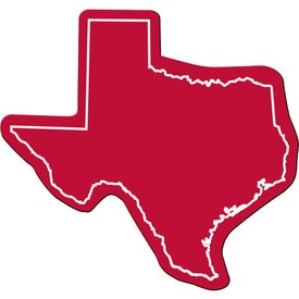 Logo Texas Flexible Magnet
