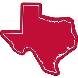 Logo Texas Flexible Magnet