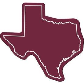 Monogrammed Texas Flexible Magnet