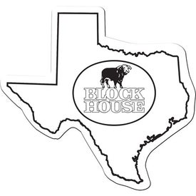 Imprinted Texas Flexible Magnet