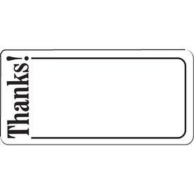 Logo Thanks Flexible Magnet
