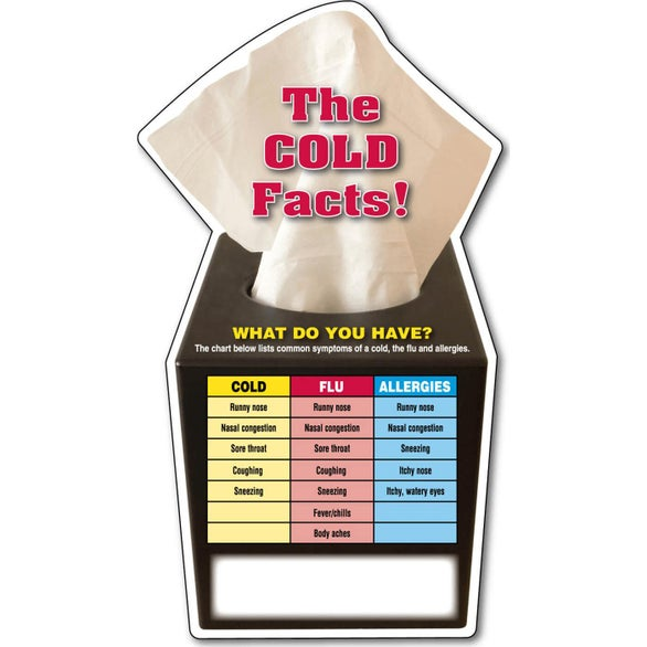 Cold Facts Cold Facts Mega-Mag Shaped Magnet