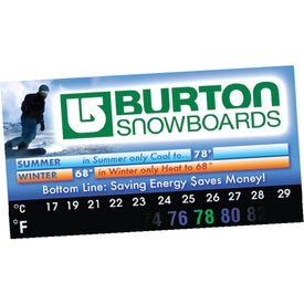 Thermo-Strip Business Card Magnet