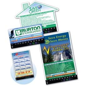 Thermo-Strip House Calendar Magnet