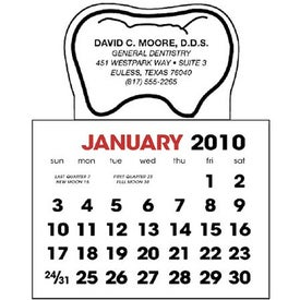 Tooth Stick Up Calendar