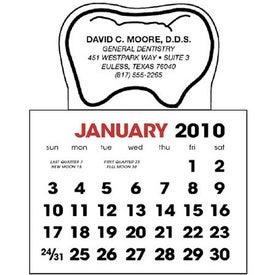 Tooth Stick Up Calendar
