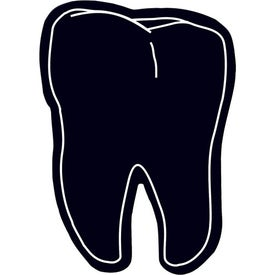 Tooth Flexible Magnet Imprinted with Your Logo