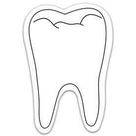 Tooth Shaped Magnets for Promotion
