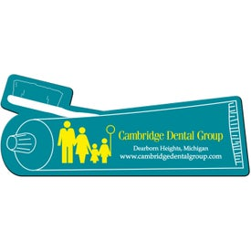 Toothpaste Flexible Magnet Printed with Your Logo
