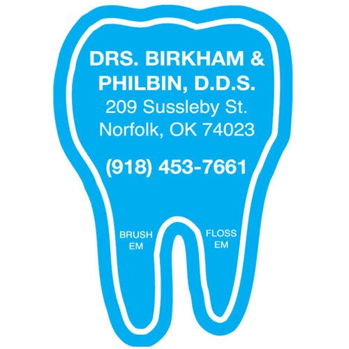 Full Color Imprint Tooth Magnet