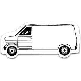 Company Van Stock Shape Magnet