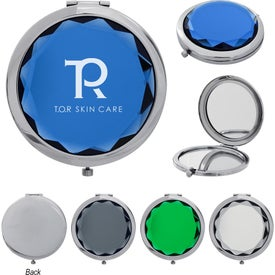 Jeweled Compact Mirrors
