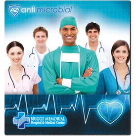 """BIC Antimicrobial Mouse Pad (7-1/2"""" X 8"""" X 1/8"""")"""