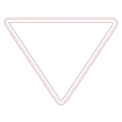 Fabric Surface Triangle Mouse Pad