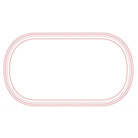 """Firm Surface Pill Mouse Pad (1/16"""")"""