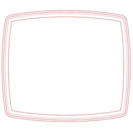 """Firm Surface Screen Mouse Pad (1/16"""")"""