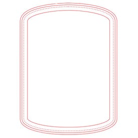 """Firm Surface Cylinder Mouse Pad (1/4"""")"""