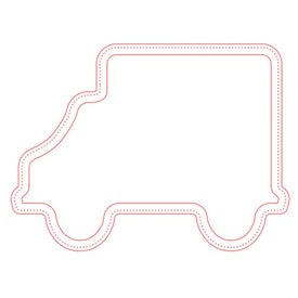 "Firm Surface Truck Mouse Pad (1/4"")"
