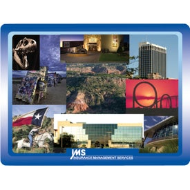 """Full Color Hard Mouse Pad (6"""" x 8"""" x 0.125"""")"""