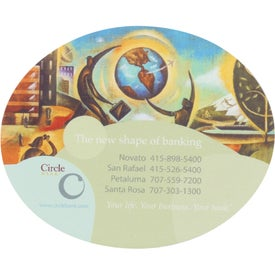 """Oval Soft Mouse Pad (6.5"""" x 8"""" x 0.125"""")"""