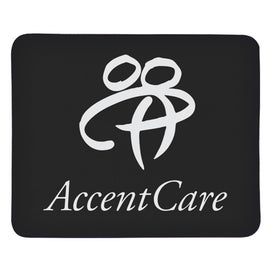 Rubber Backed Mousepad Branded with Your Logo