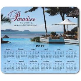 Ultra-Thin Repositionable Calendar Desktop Sticker