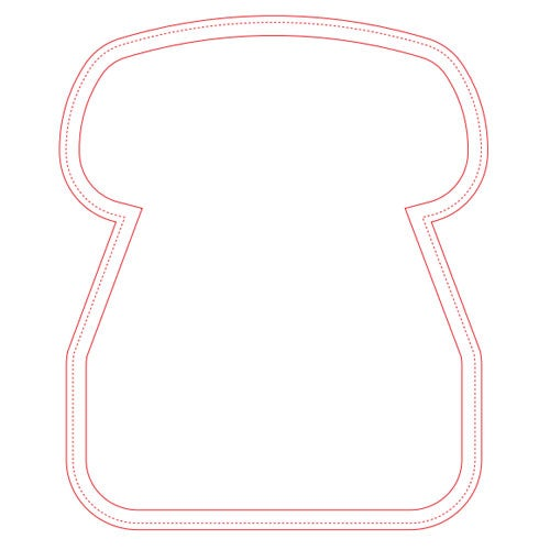 Ultra Thin Telephone Mouse Pad