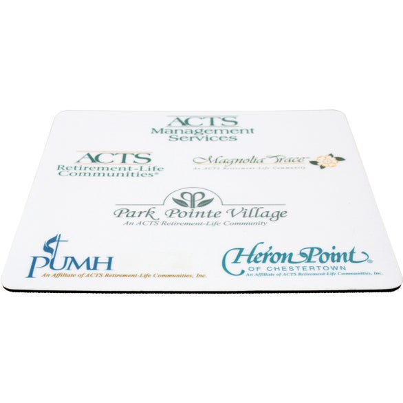 Full Color Imprint Square Vynex Surface Mouse Pad