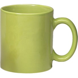 Personalized Colored Stoneware Mug