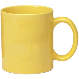 Colored Stoneware Mug for Marketing