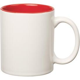 Colored Stoneware Mug for Your Company