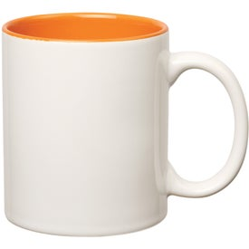 Colored Stoneware Mug for Promotion