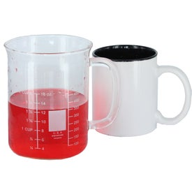 Colored Stoneware Mug for Marketing