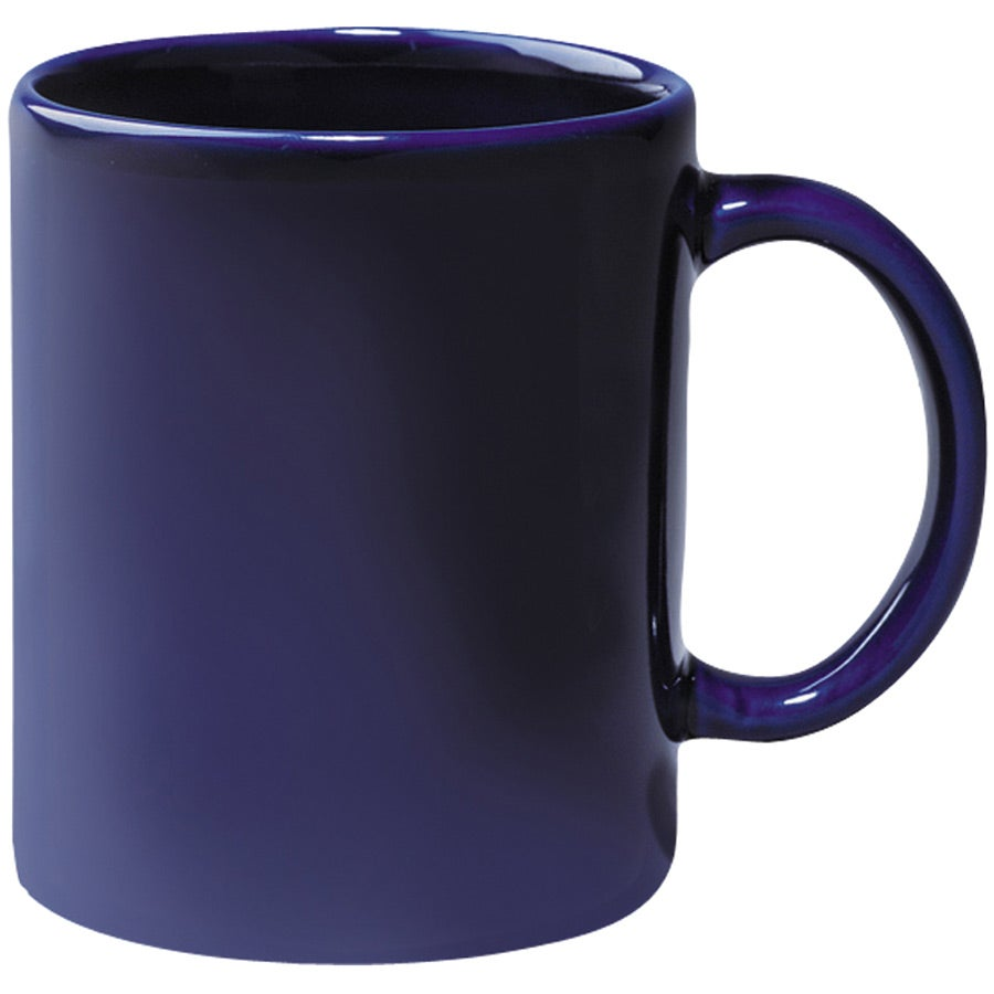 large coffee mugs colored stoneware mug 11 oz cobalt custom ceramic mugs 11544