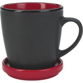 Two-Tone 2 Piece Coaster Mug Giveaways