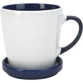 Company Two-Tone 2 Piece Coaster Mug
