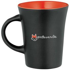 Advertising Agave Ceramic Mug with Spoon