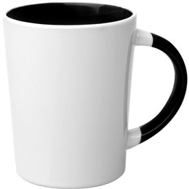 Albany Two-Tone Latte Mugs (13 Oz.)
