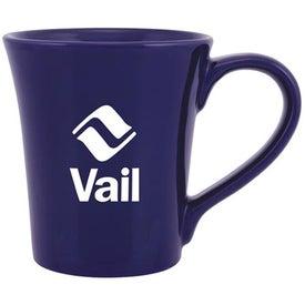 Allegra Ceramic Mug with Your Slogan