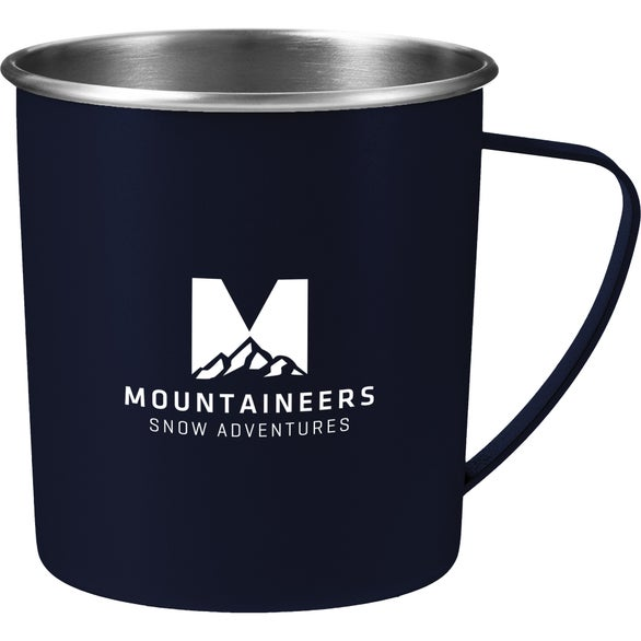 Navy Atlas Metal Camping Mug
