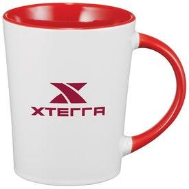 Branded Aura Ceramic Mug
