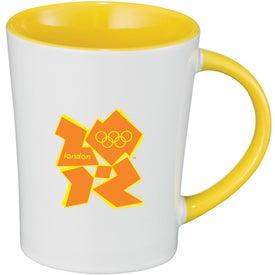 Aura Ceramic Mug with Your Slogan