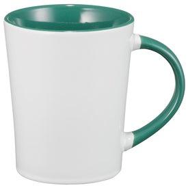 Imprinted Aura Ceramic Mug