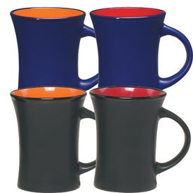 Aztec Flare Mug (10 Oz., Red and Orange)