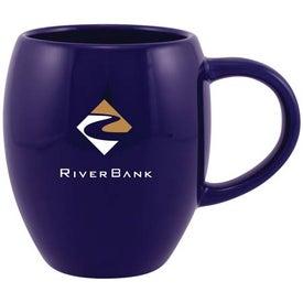 Barrel Ceramic Mug with Your Slogan